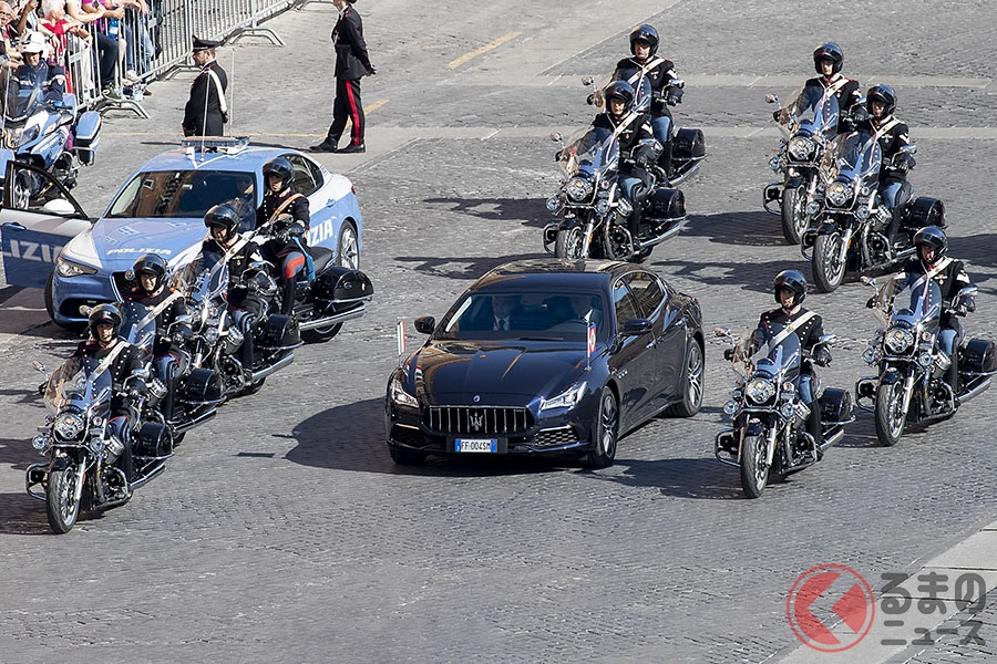 なぜイタリア大統領の公用車はちょいエロ仕様? マセラティ「クアトロポルテ」の魅力を辿る