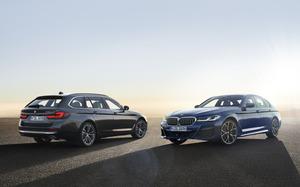 BMW 5シリーズがマイナーチェンジ! セダン、ツーリングともに2020年夏に市場導入予定