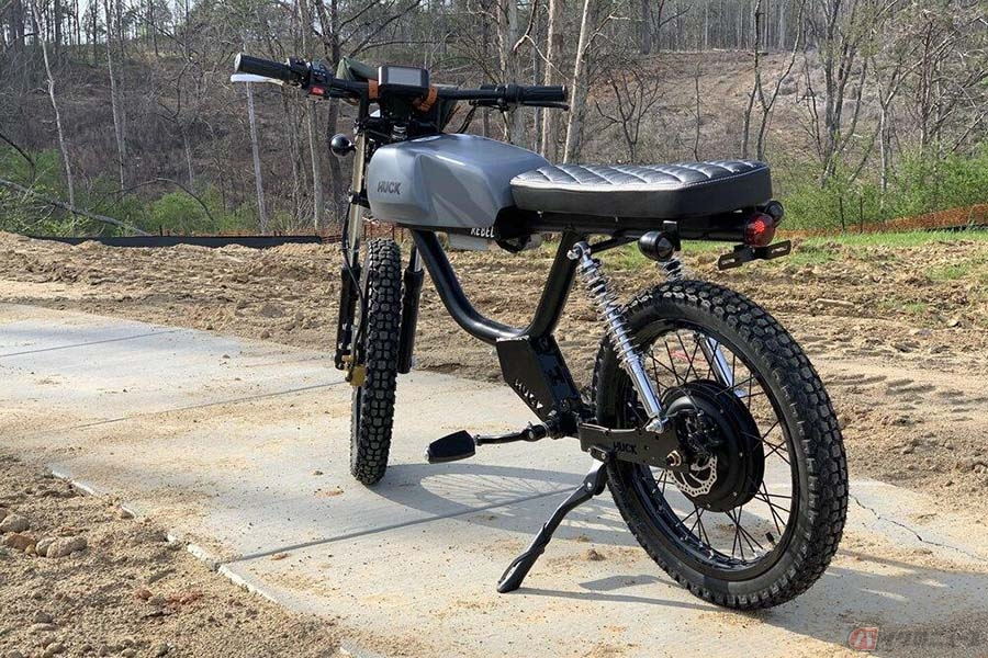 Huck Cycles「Rebel」 ビンテージバイクのような雰囲気の電動モペット登場