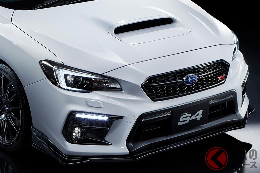 スバル「WRX S4」の特別モデル限定発売! シャープな大人セダン「STIスポーツ#」登場