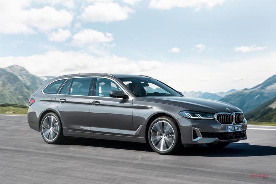 【BMW 5シリーズがマイナーチェンジ】新フロントグリル採用 PHEV版545e追加
