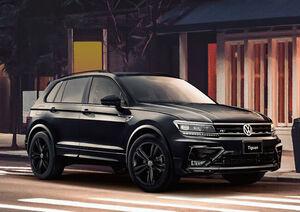 VWティグアン特別仕様車(2):外装のクロームパーツやアルミホイールなどをブラックペイントに置き換えた特別仕様車「R-Line Black Style」を設定