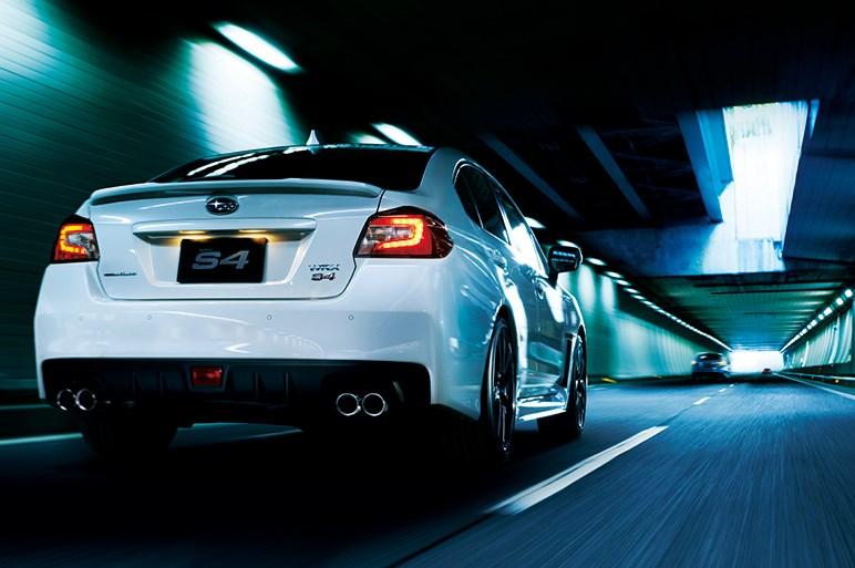 スバルWRX S4改良モデルを発表。アイサイト新機能搭載に加え走りも向上