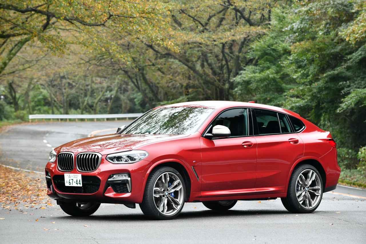 【ニューモデル写真蔵】BMW X4「走りも楽しめるスポーツ・アクティビティ・クーペ」