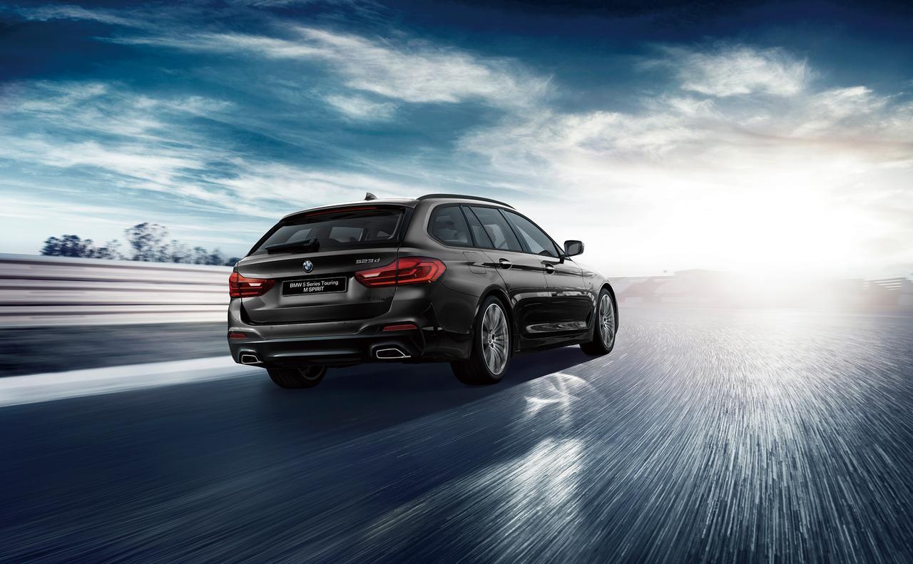 【ニュース】BMW 523iセダン/523dツーリングに特別仕様「M Spirit」が登場