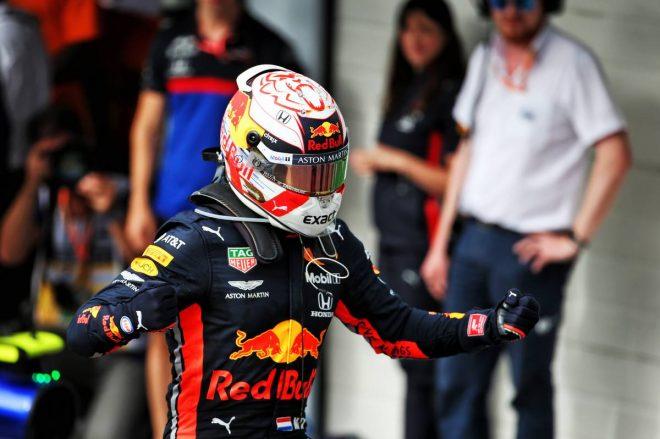 ホンダ1-2でブラジルGPフィニッシュ! フェルスタッペン優勝、ホンダ3台vsハミルトンのトップ4がラスト2周緊迫のバトル
