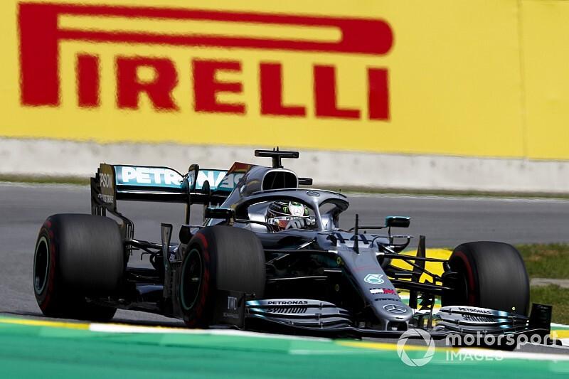 ハミルトン、アルボンとの接触により5秒加算ペナルティ。表彰台逃す「完全に僕のせいだ」……サインツ初表彰台|F1ブラジルGP