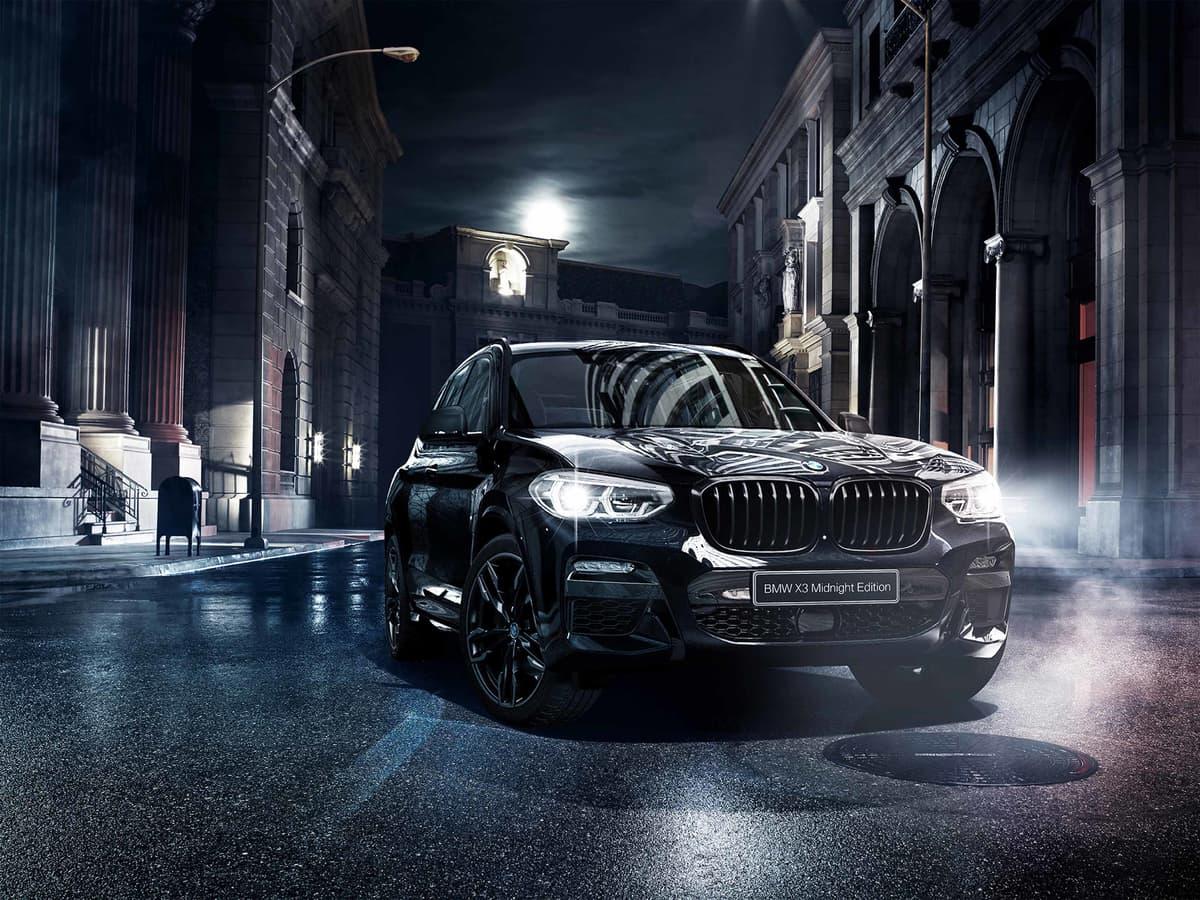 BMW X3に限定車「ミッドナイト・エディション」登場、ブラックで引き締めた上質ボディで差別化