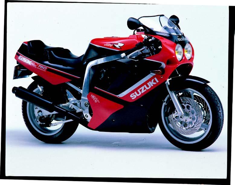 GSX-R750、GSX-R400SPなどスズキのスーパースポーツが大人気に!【日本バイク100年史 Vol.043】(1988-1989年)<Webアルバム>