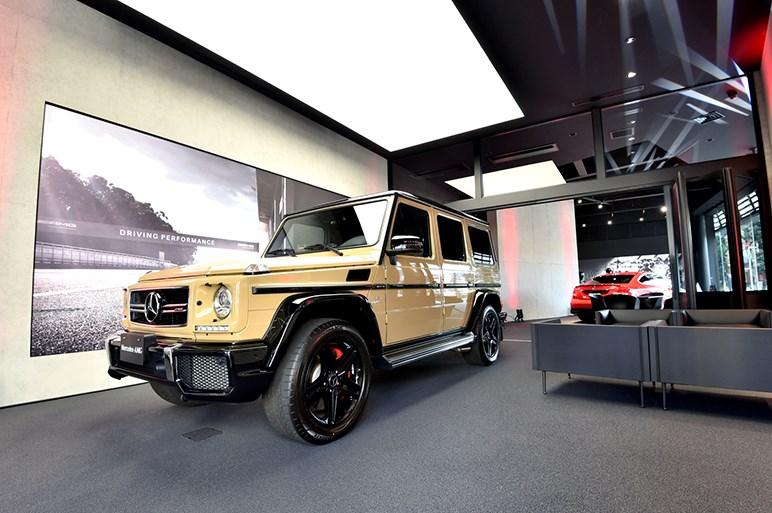 世界初のメルセデス AMG専売店オープン。カスタマイズプログラムも導入