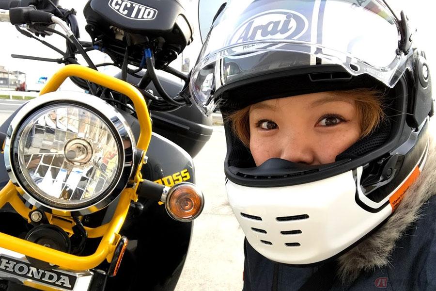 バイク女子の化粧・スキンケアは何がベスト? バイクタレント「あやみん」のオススメは?
