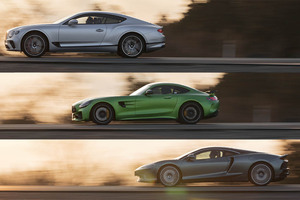 【比較試乗】「ベントレー・コンチネンタルGT vs メルセデスAMG GT R vs マクラーレンGT」あらためてGTの定義を考えてみた