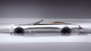 """ロールス・ロイス、世界50台限定の""""銀の弾丸""""、2シーター仕様の「ドーン」を予告"""