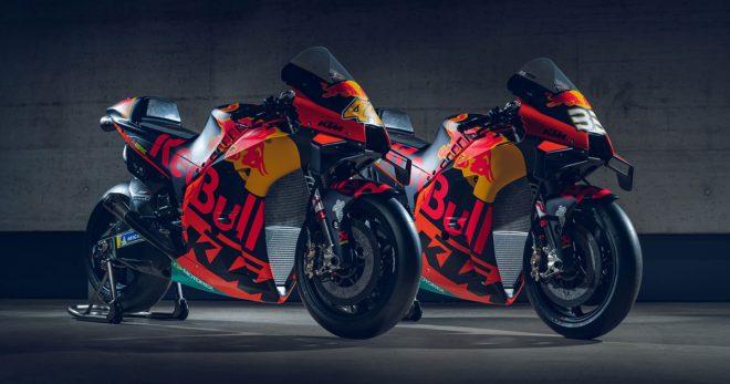 【ギャラリー】MotoGP:KTMの2020年型マシン『RC16』