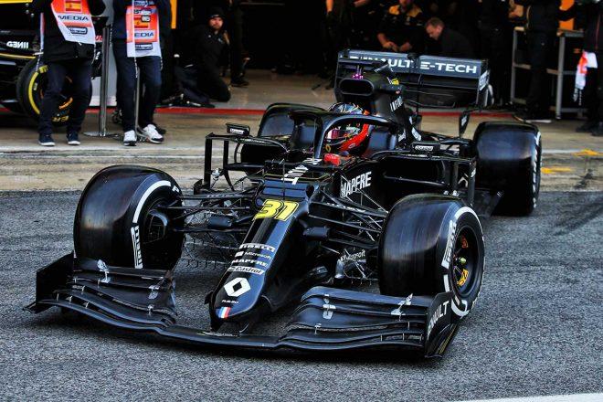 ルノーF1、2020年型新マシン『R.S.20』の正式発表がないままプレシーズンテスト走行開始