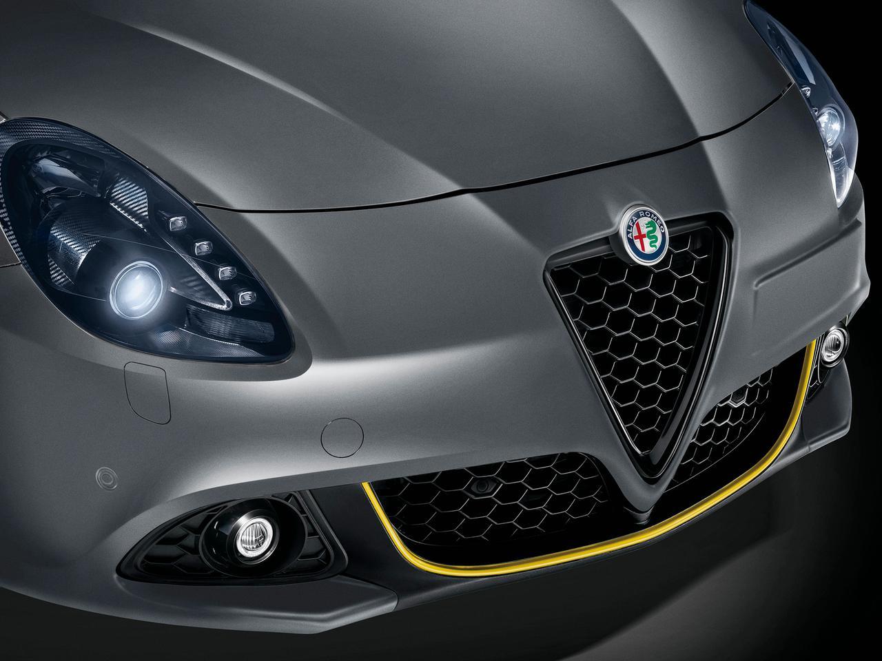 アルファロメオ ジュリエッタ ヴェローチェに、マットグレーのボディカラーを採用した限定車
