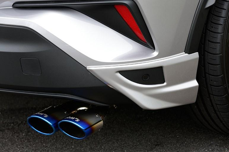 トムス流カスタムで好調C-HRのデザイン、走りにさらに勢いが増した