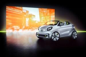 スマート、コンセプトカー「フォーイーズ」をパリモーターショーで発表