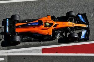 マクラーレンF1のノリス、メルセデスPUに期待も「成功するにはシャシーの改善も必要」