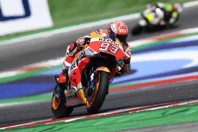 MotoGP:マルケス、好きなコースのアラゴンは「ホームのファンの前で速く走りたい」
