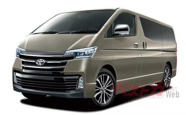 新車情報緊急入電!! 新型ハイエースレジアス2020年春に登場!!