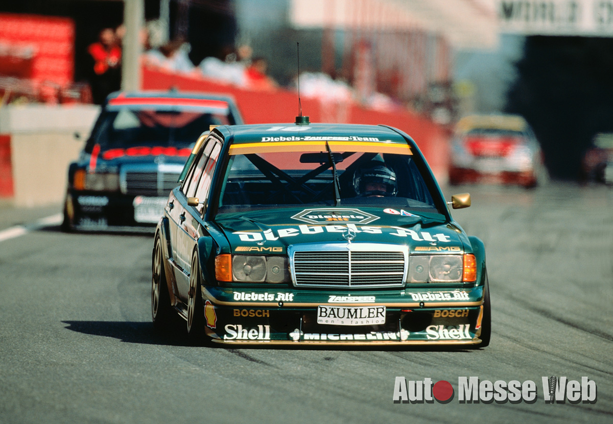 メルセデスの一員「AMGは小さなエンジンチューニングショップだった」