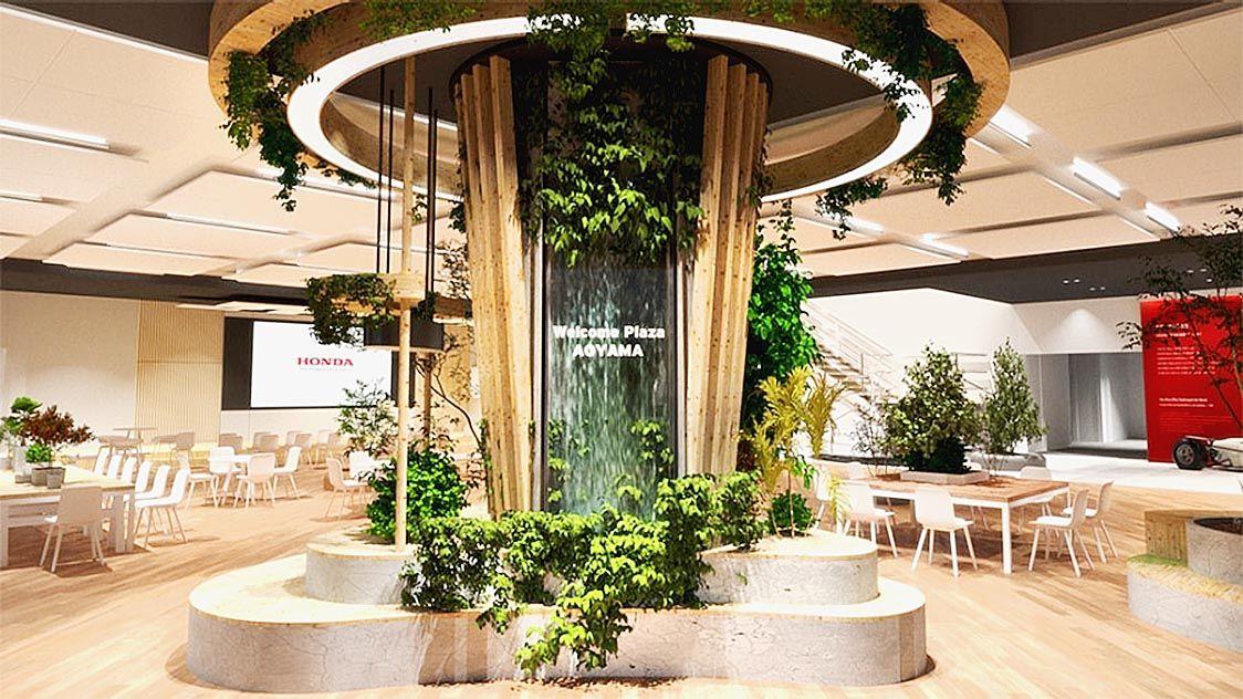 ホンダウエルカムプラザ青山、18日にリニューアルオープン カフェスペースも刷新