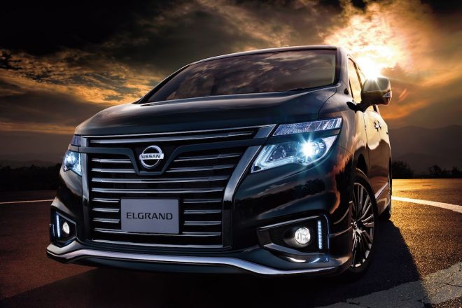漆黒に輝く『ニッサン・エルグランド』特別仕様車が復活。1月29日より発売開始