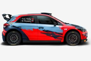 WRC:ヒュンダイ、下位クラスWRC2に2台のi20 R5を投入。最上位クラス撤退のシトロエンもWRC2は活動継続