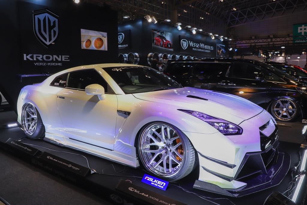 「クールレーシング最新のR35GT-Rが凄すぎる!」走りに特化したNEWエアロでフル武装!【東京オートサロン2020】