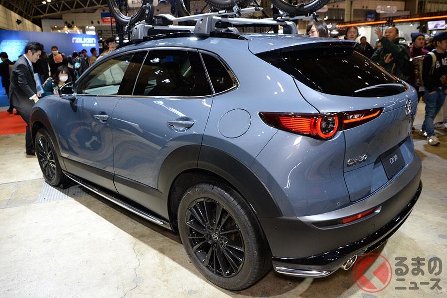 マツダの都会派SUV「CX-30」がアクティブに変身! アクセサリーパッケージ発売