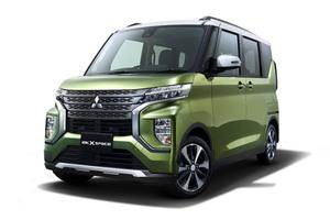 三菱 新登場の軽スーパーハイトワゴン車名は「eKクロス スペース」「eKスペース」