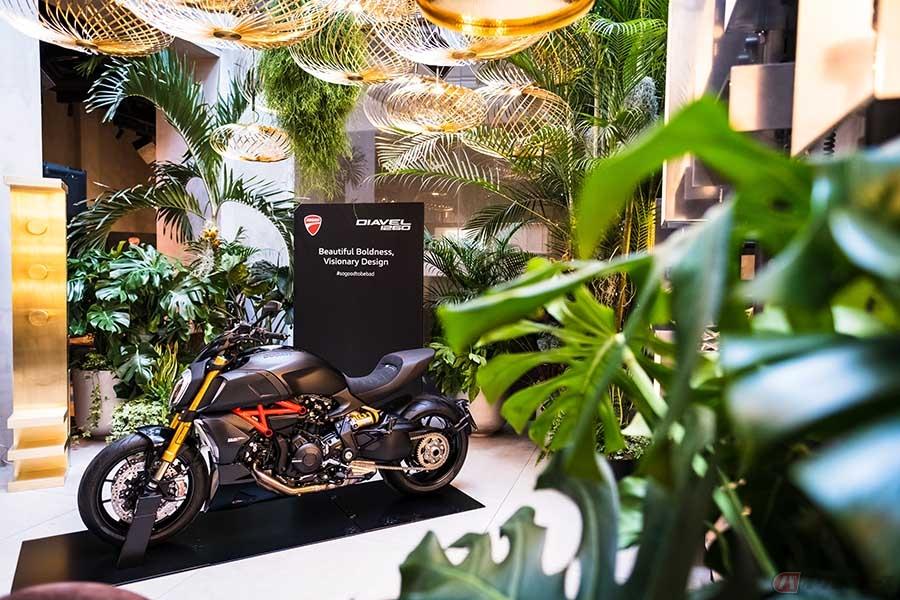 ドゥカティのマッスルクルーザー「ディアベル」がグッドデザイン賞を受賞