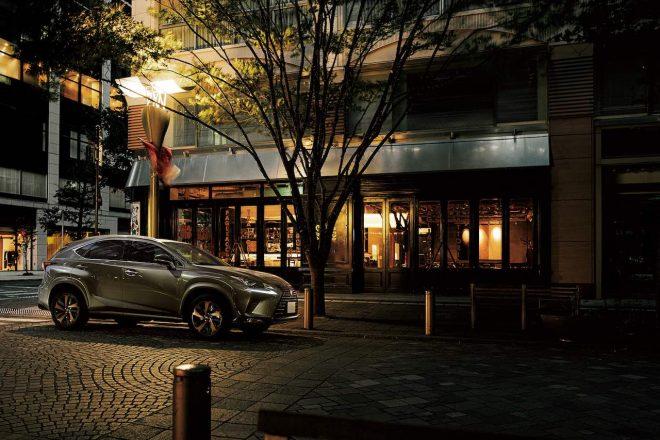 レクサスのプレミアムSUV、『NX』と『UX』に専用カラー採用の特別仕様車が登場