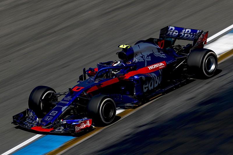 トロロッソ・ホンダのピエール・ガスリー、予選Q1敗退「チームが全力を尽くしているのは知っている。でも、まだペースが足りない」 F1ドイツGP