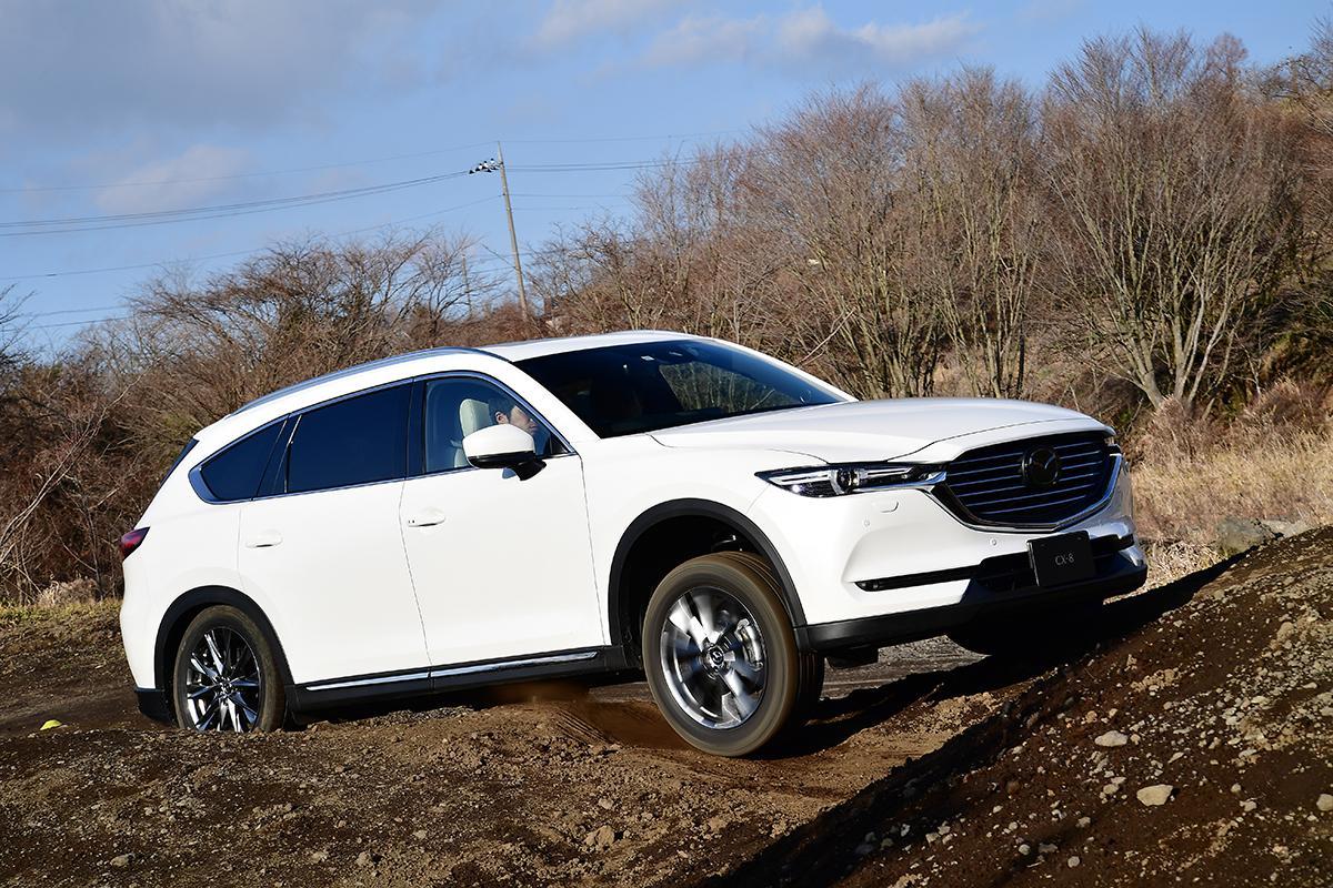 【動画】注目のオフロードアシスト機能はどうか? マツダ最新SUVに搭載された技術を悪路で試す