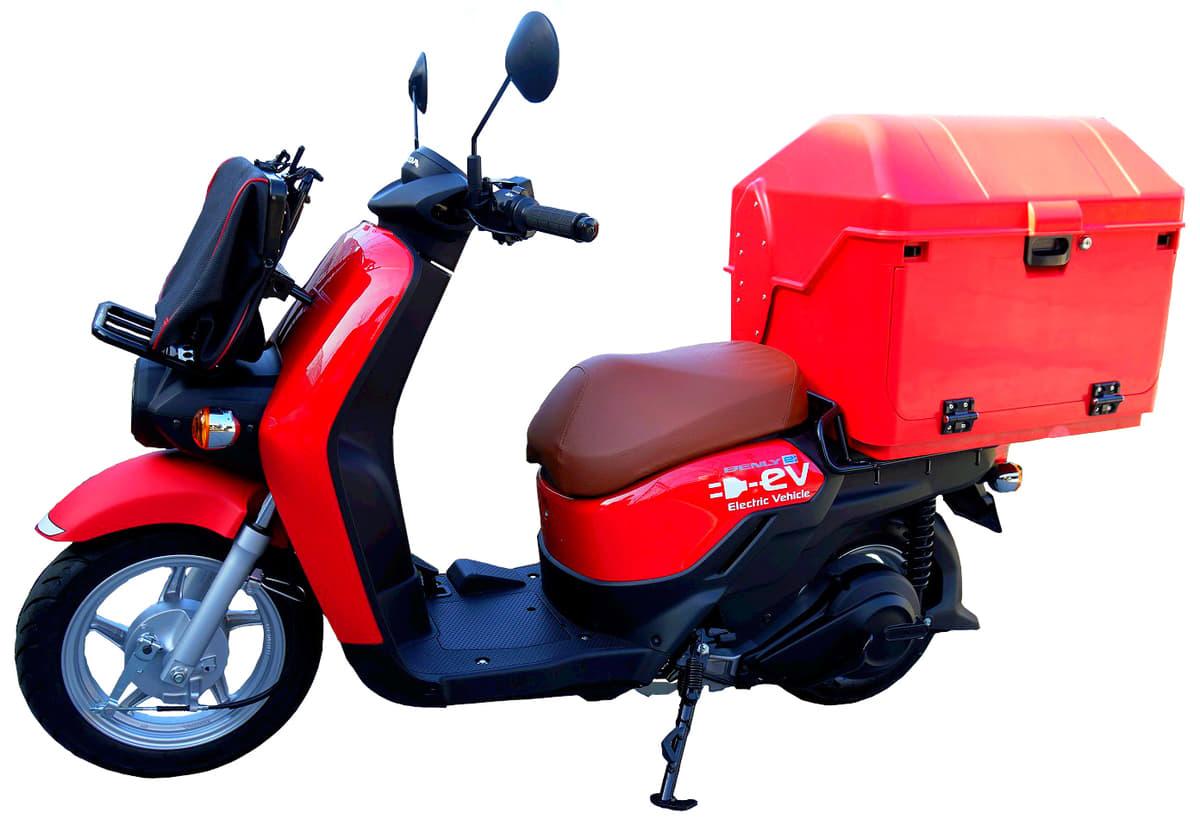 郵便の配達業務に使用される次期モデル「BENLY e:」ってどんな二輪車?