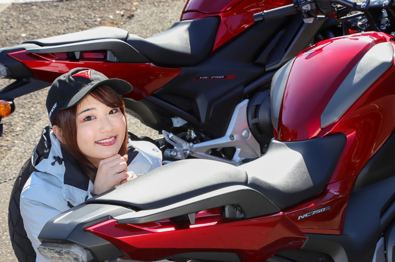 平嶋夏海の「つま先メモリアル」(第6回:Honda NC750S、NC750X)
