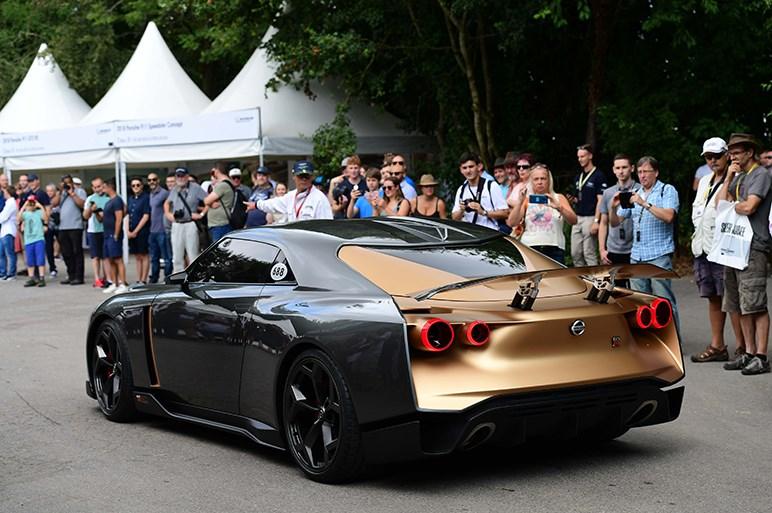 あの特製GT-Rがグッドウッドを走った。日産GT-R50 byイタルデザインがデビュー