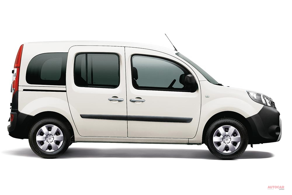 【アイボリーの限定車】ルノー・カングー・ペイサージュに新モデル
