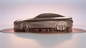BMW、電気自動車「コンセプトi4」をジュネーブショーで世界初披露。ボディはエンジン搭載モデルと共通化