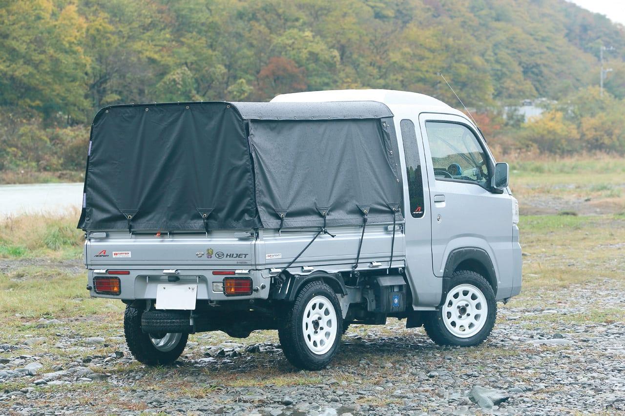 タイで人気のトゥクトゥクを参考にキットを開発 Kカー ハイゼット エアロカスタム