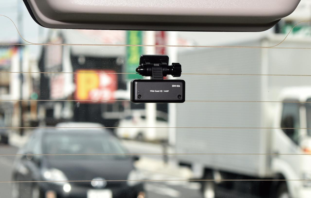 車両前後の状況をフルHD画質で捉える コムテック ZDR025 2カメラドラレコ 【CAR MONO図鑑】