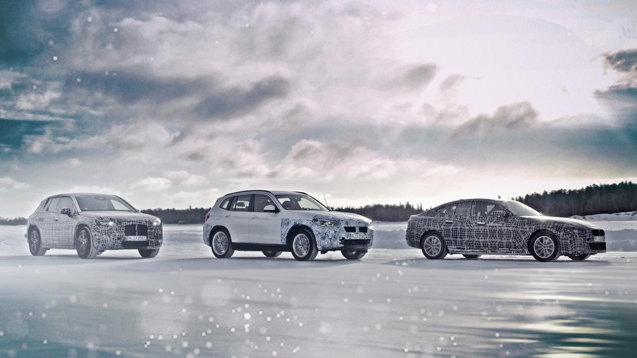 BMWの電気自動車「コンセプトi4」をジュネーブモーターショーで公開。4ドアのグランクーペ