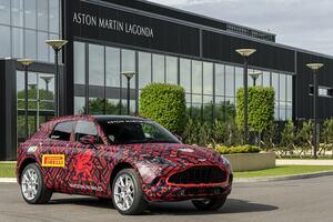 アストンマーティン DBXのテストカーが関西に上陸! 新たなラグジュアリーSUVの世界を間近で