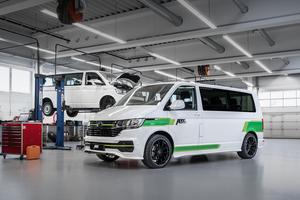 ABTチューンのフルEVコマーシャルバン「ABT e-トランスポーター 6.1」販売スタート