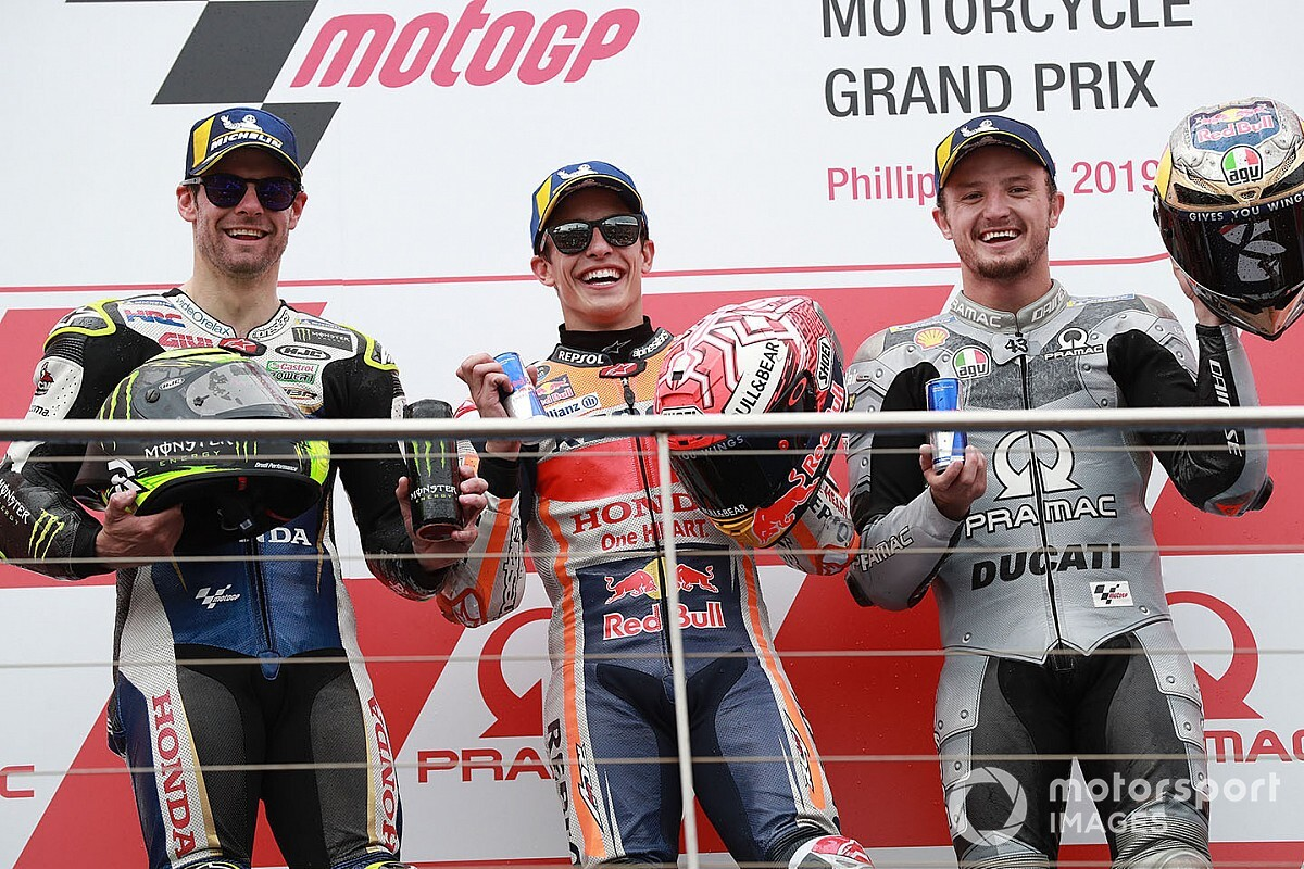 """【MotoGP】「マルケスに対抗できる」クラッチロー、ドゥカティ""""昇格""""ジャック・ミラーの才能確信"""
