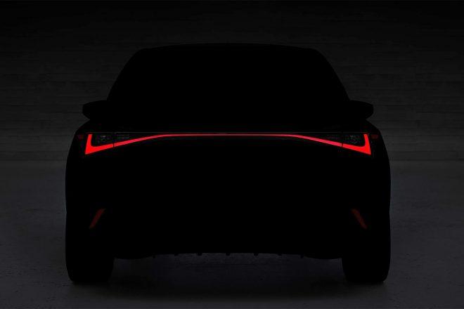 レクサス、新型ISを6月10日にオンラインで発表へ。デザインの一部を公開