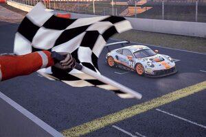 SRO・EスポーツGT第4戦バルセロナはポルシェを駆るデルトラスが優勝。ランキング首位に