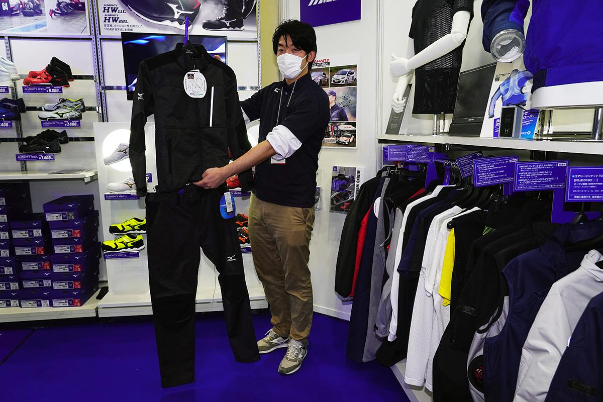 スポーツ用品ブランド「ミズノ」がモータースポーツ参入! ワークウェアに取り入れたオシャレで機能的な要素とは